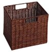 Winsome Walnut Small Storage Baskets (Set of 2)