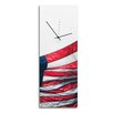 Metal Art Studio 'US Flag' Patriotic Home Décor Wall Clock