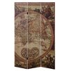 "Bombay Heritage Global 71"" x 47.8"" 3 Panel Room Divider"