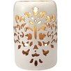 Bombay Heritage Damask Ceramic Lantern