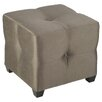 <strong>Bombay Langham Cube Ottoman</strong> by Bombay Heritage
