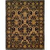 Wildon Home ® Black/Gold Area Rug