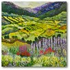 Courtside Market Where Flowers Bloom Gallery Wrapped Canvas