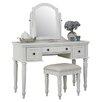 Home Styles Bermuda Vanity & Stool Set