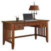 Home Styles Arts & Crafts Computer Desk with Keyboard Tray