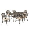 <strong>Home Styles</strong> Floral Blossom 7 Piece Dining Set with Cushions