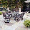 Home Styles Stone Harbor 7 Piece Dining Set with Newport Chairs