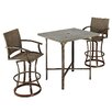 <strong>Home Styles</strong> Urban Outdoor 3 Piece Bar Height Dining Set