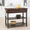 Home Styles Cabin Creek Kitchen Island with Wood Top II