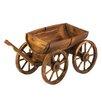 Zingz & Thingz Half Barrel Outdoor Wagon
