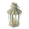 Zingz & Thingz Weatherkissed Candle Lantern