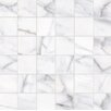 Faber Calacatta High Definition Porcelain Matte Tile in White (Set of 10)