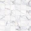Faber Calacatta High Definition Porcelain Matte Tile in White (Set of 10)