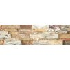 Faber Nebula Random Sized Wall Cladding Cubic Travertine Honed Mosaic in Mix Rustic