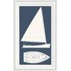 Melissa Van Hise Sail Boat I Framed Graphic Art