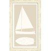 Melissa Van Hise Sail Boat II Framed Graphic Art