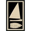 <strong>Melissa Van Hise</strong> Sailboat I Framed Graphic Art