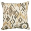 <strong>The Pillow Collection</strong> Odayle Ikat Cotton Pillow