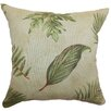 The Pillow Collection Barsia Leaf Cotton Pillow