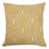 <strong>The Pillow Collection</strong> Nanowne Moorish Tile Cotton Pillow