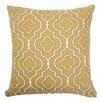 The Pillow Collection Nanowne Moorish Tile Cotton Pillow