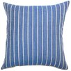 The Pillow Collection Tarvos Stripes Cotton Pillow