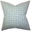 The Pillow Collection Paros Greek Key Throw Pillow