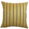 The Pillow Collection Lakesha Stripes Polyester Pillow