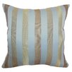 The Pillow Collection Olivia Stripes Polyester Pillow