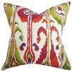 The Pillow Collection Gudrun Ikat Throw Pillow
