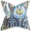 The Pillow Collection Gudrun Ikat Throw Pillow
