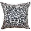 The Pillow Collection Vappi Floral Cotton Pillow