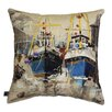 <strong>Fishing Boats Cushion</strong> by Artistic Britain