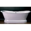 "<strong>Cambridge Plumbing</strong> 66"" x 31"" Dual Slipper Tub"