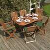 <strong>Plumley 7 Piece Dining Set</strong> by Rowlinson