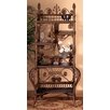 Yesteryear Wicker Fancy Cabinet