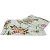 <strong>Xia Home Fashions</strong> Flora Linens Placemat and Napkin Set