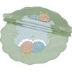 <strong>Xia Home Fashions</strong> Easter Egg Round Doily (Set of 4)