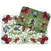 <strong>Xia Home Fashions</strong> Butterflies Placemat (Set of 4)