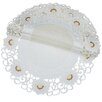 <strong>Xia Home Fashions</strong> Victorian Elegance Round Doily (Set of 4)