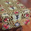 <strong>Xia Home Fashions</strong> Butterflies Table Runner