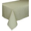 "<strong>Beaded Sheer 90""  x 90"" Tablecloth</strong> by Xia Home Fashions"