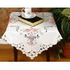 "Xia Home Fashions Bloom 34"" x 34"" Table Topper"