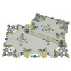 <strong>Xia Home Fashions</strong> Fancy Flowers Placemat (Set of 4)