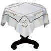 Xia Home Fashions Holly Berry Embroidered Cutwork Table Topper