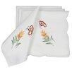 Xia Home Fashions Elegant Embroidered Napkin (Set of 4)