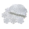 Xia Home Fashions Shimmer Snowflake Embroidered Cutwork Placemat (Set of 4)