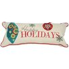 <strong>Xia Home Fashions</strong> Happy Holidays-8X18 Pillow