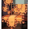 Xia Home Fashions Happy Jack-O-Lanterns Dining Linens Set