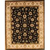 Pasargad Agra Black/Beige Traditional Persian Area Rug